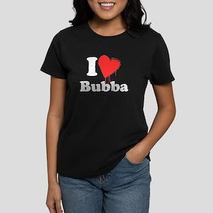 I heart bubba Women's Dark T-Shirt