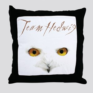 Team Hedwig Throw Pillow