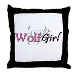 Vampire Girl Throw Pillow
