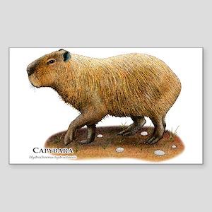 Capybara Sticker (Rectangle)