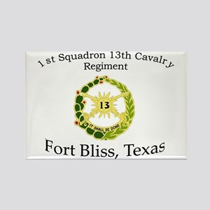 1st Squadron 13th Cavalry Rectangle Magnet