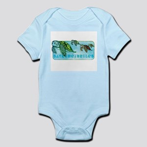TURTLE BABIES Infant Bodysuit