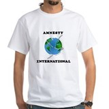 Amnesty international Mens Classic White T-Shirts