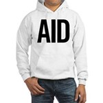 Aid (black) Hooded Sweatshirt