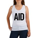 Aid (black) Women's Tank Top