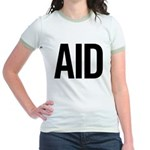 Aid (black) Jr. Ringer T-Shirt