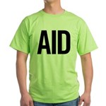 Aid (black) Green T-Shirt