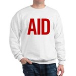 Aid (red) Sweatshirt