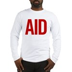 Aid (red) Long Sleeve T-Shirt