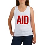 Aid (red) Women's Tank Top