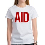Aid (red) Women's T-Shirt