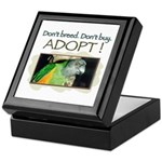 Keepsake Box - Senegal Parrot