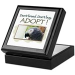 Keepsake Box - African Grey