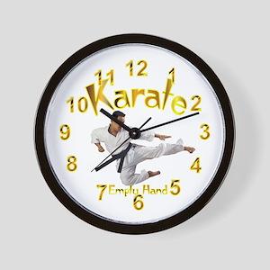 Karate Wall Clock 10inch