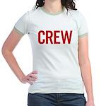Crew (red) Jr. Ringer T-Shirt