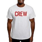 Crew (red) Ash Grey T-Shirt