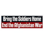 End the Afghanistan War Bumper Sticker