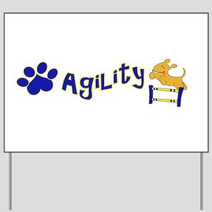 Agility Yard Sign