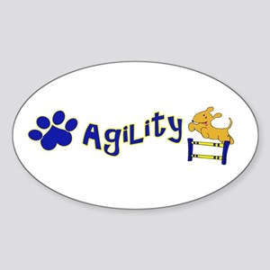 Agility Sticker (Oval)