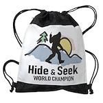 Bigfoot Hide & Seek World Champion Drawstring Bag