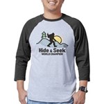 Bigfoot Hide & Seek World Champion Mens Baseball T