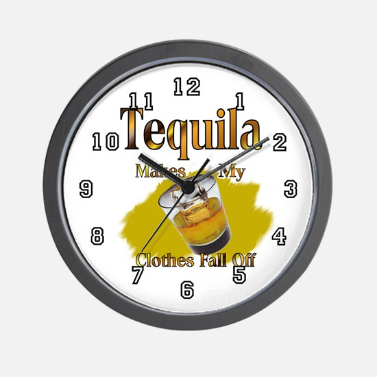 Tequila Wall Clock 10inch