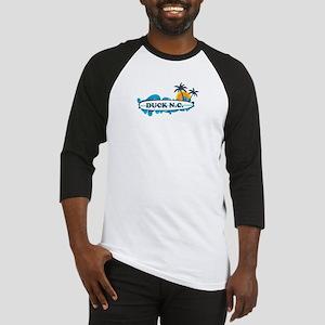 Duck NC - Surf Design Baseball Jersey