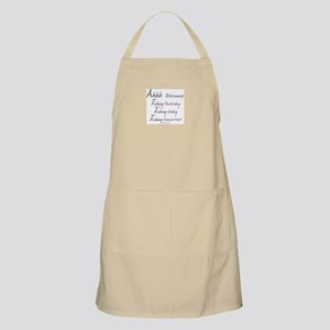 Ahhh Retirement, and Fishing! Apron