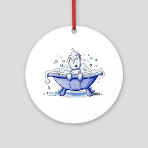 Muggles Bath Ornament (Round)