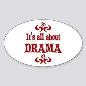 Drama Sticker (Oval)