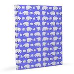 Polar Bear Pattern 20x24 Canvas Print