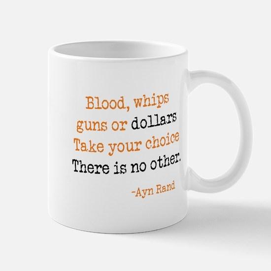 Guns or Dollars Mug