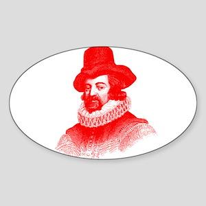 Sir Francis Bacon Sticker (Oval)