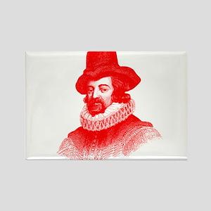 Sir Francis Bacon Rectangle Magnet