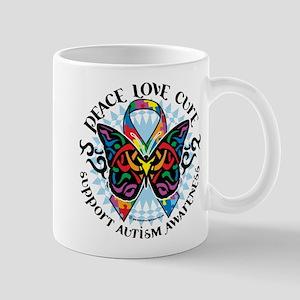 Autism Tribal Butterfly 2 Mug
