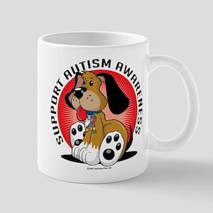 Autism Awareness Dog Mug