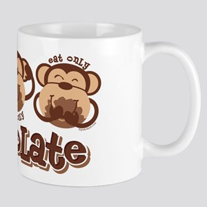 Monkey See Chocolate Mug