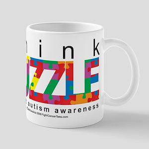 Autism Think Puzzle Mug