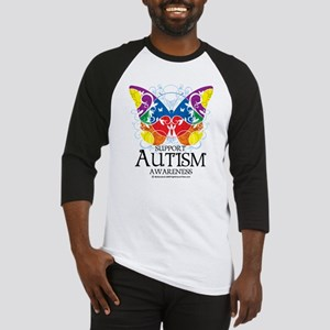 Autism Butterfly Baseball Jersey