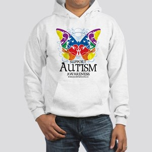 Autism Butterfly Hooded Sweatshirt