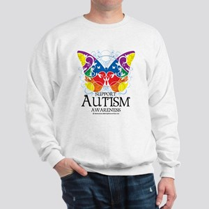 Autism Butterfly Sweatshirt