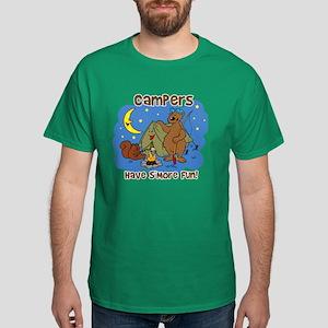 Campers Have S'More Fun Dark T-Shirt