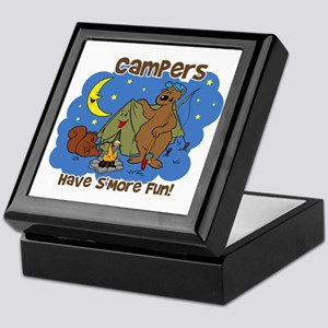 Campers Have S'More Fun Keepsake Box