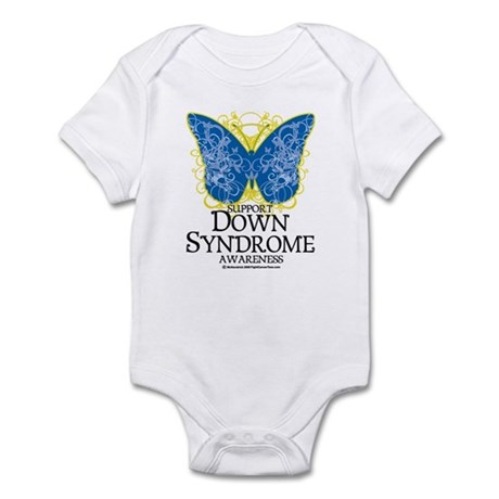 Down Syndrome Butterfly Infant Bodysuit