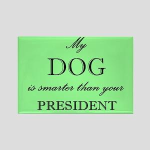 Smarter Dog Rectangle Magnet (10 pack)