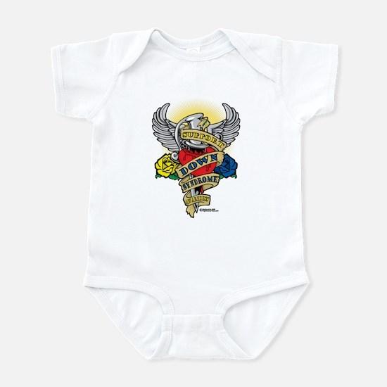 Down Syndrome Dagger Infant Bodysuit