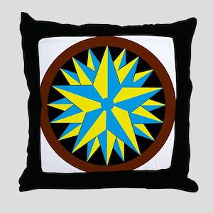 Penn-Dutch - Triple Star Hex Throw Pillow