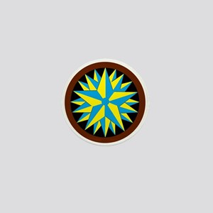 Penn-Dutch - Triple Star Hex Mini Button