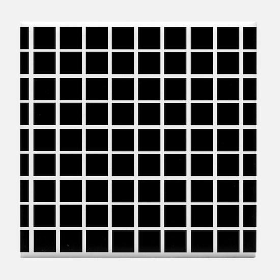 Cute Illusion Tile Coaster