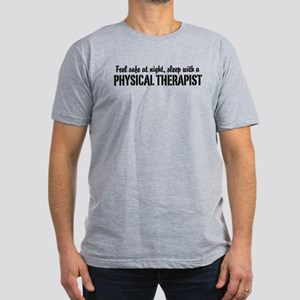 Feel safe with a Physical Therapist Men's Fitted T